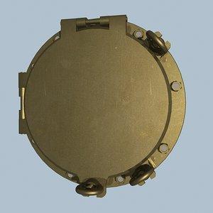 3d model ship porthole