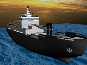 ship 3d max