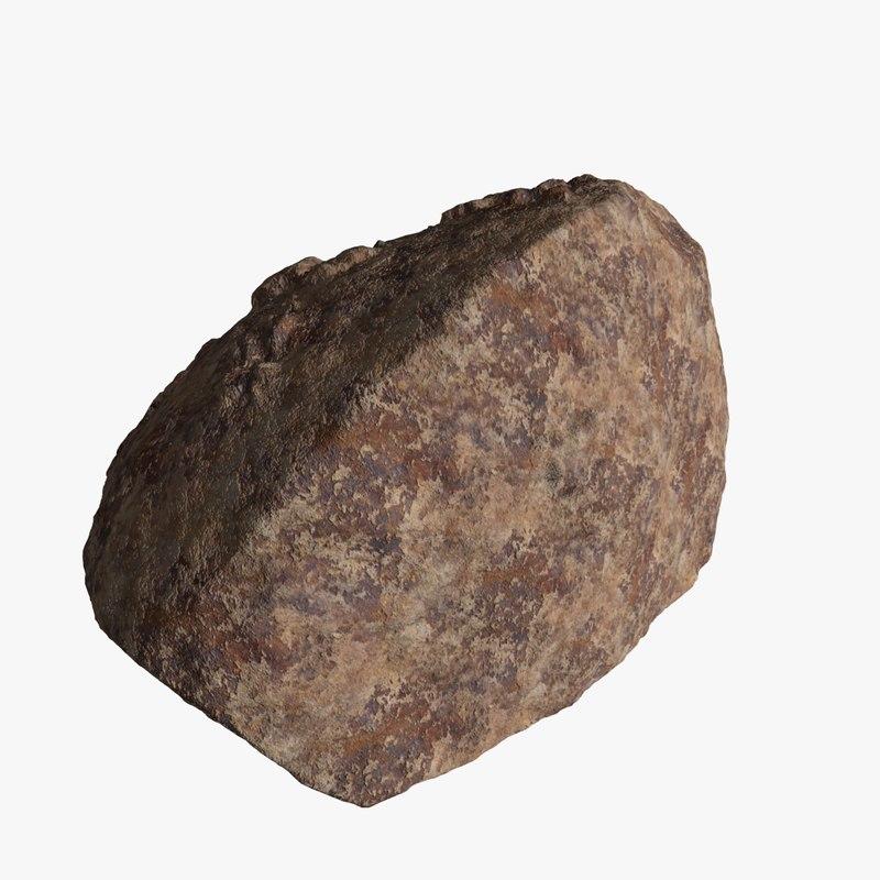 free big boulder 3d model