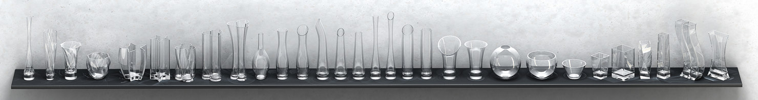 vases 3d max