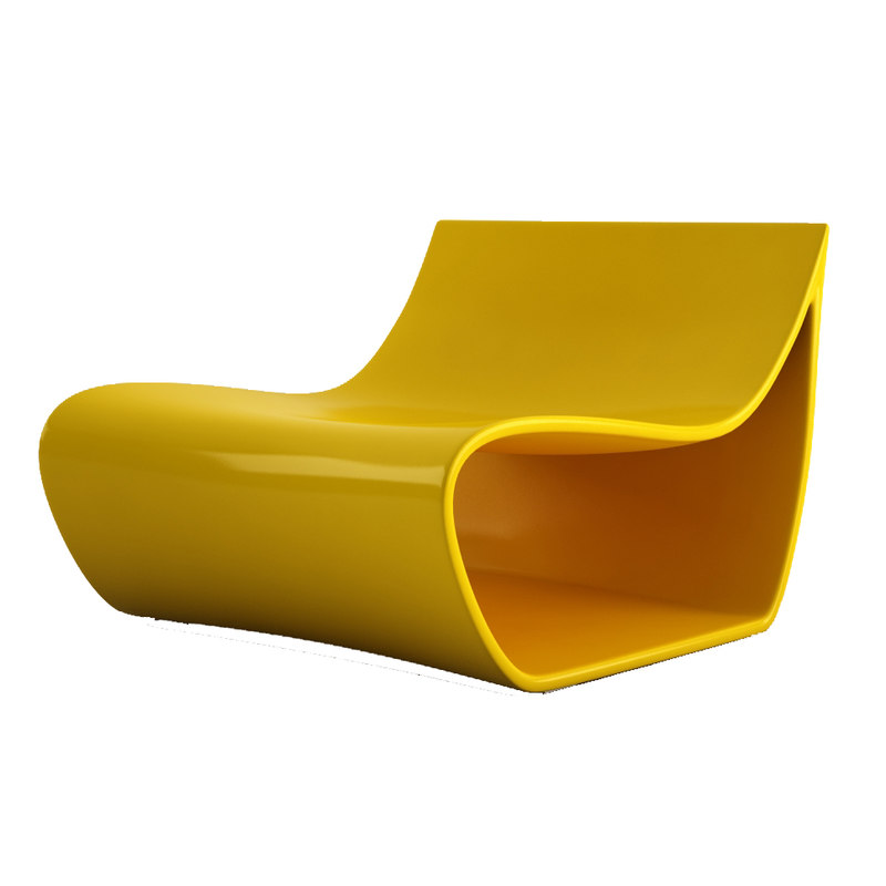 mdf italia sign armchair 3d max