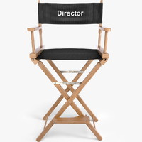 Typical Director's Chair