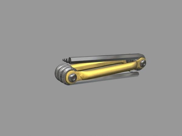 multi-tool allen keys 3d max