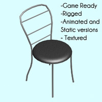 Game Ready Chair Animated and Static