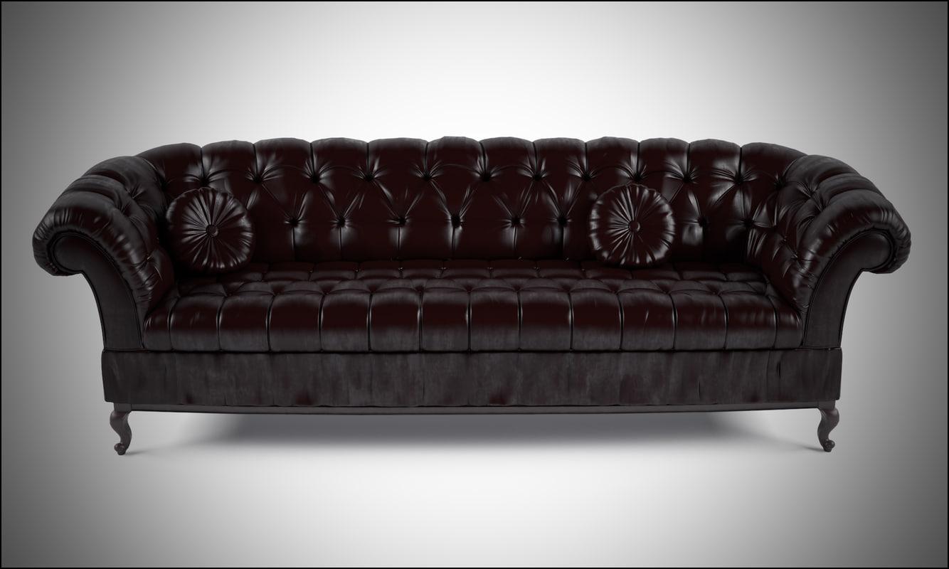 3d sofa baxter model