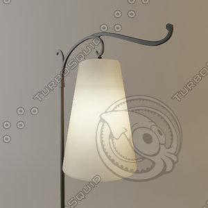 objet insolite faro lamp 3d model