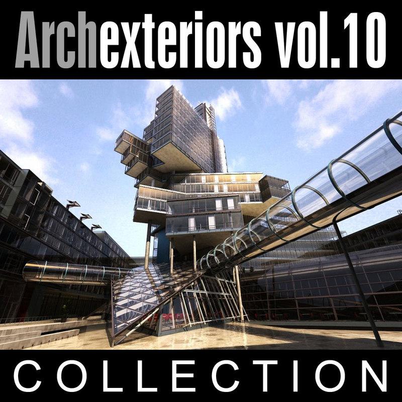 3d model archexteriors vol 10