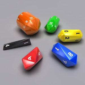 3dsmax set barrel dice