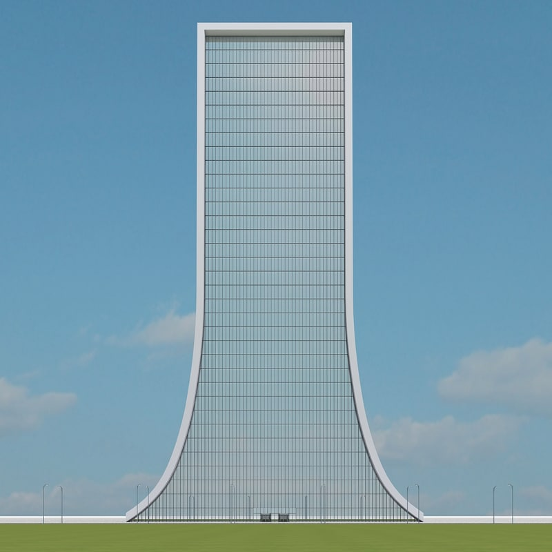 3d new skyscraper 64