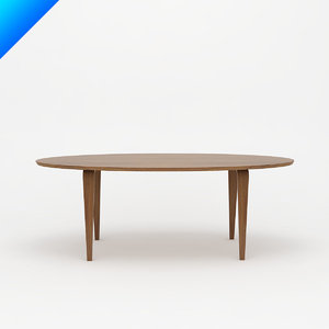 3d cherner table - oval model