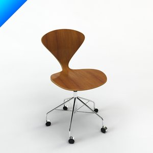3d cherner task chair design