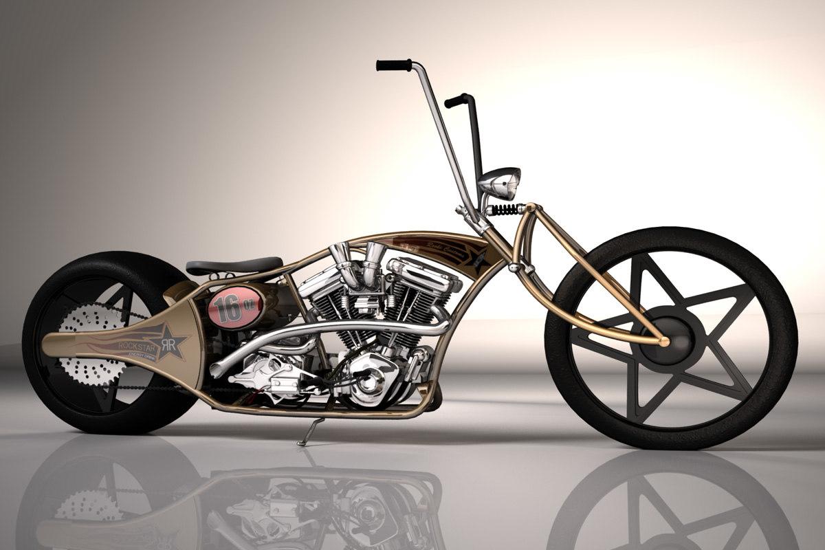 3d custom chopper