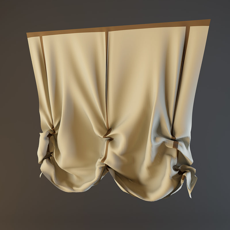curtain french fbx
