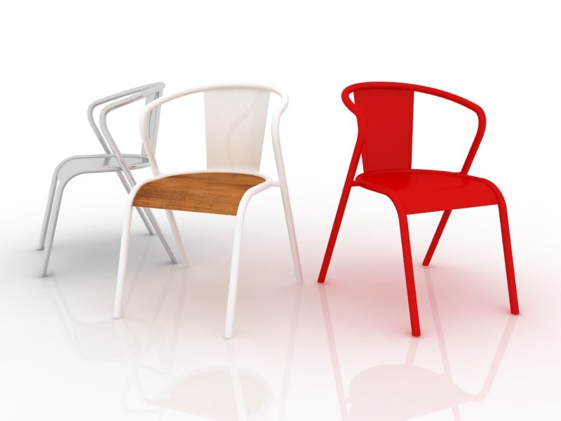 3d cadeira chair