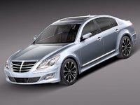 Hyundai Genesis Sedan 2012