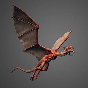 3d zbrush ztl sculpt dragon