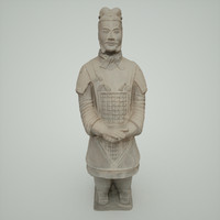 terracotta warrior army 3d model