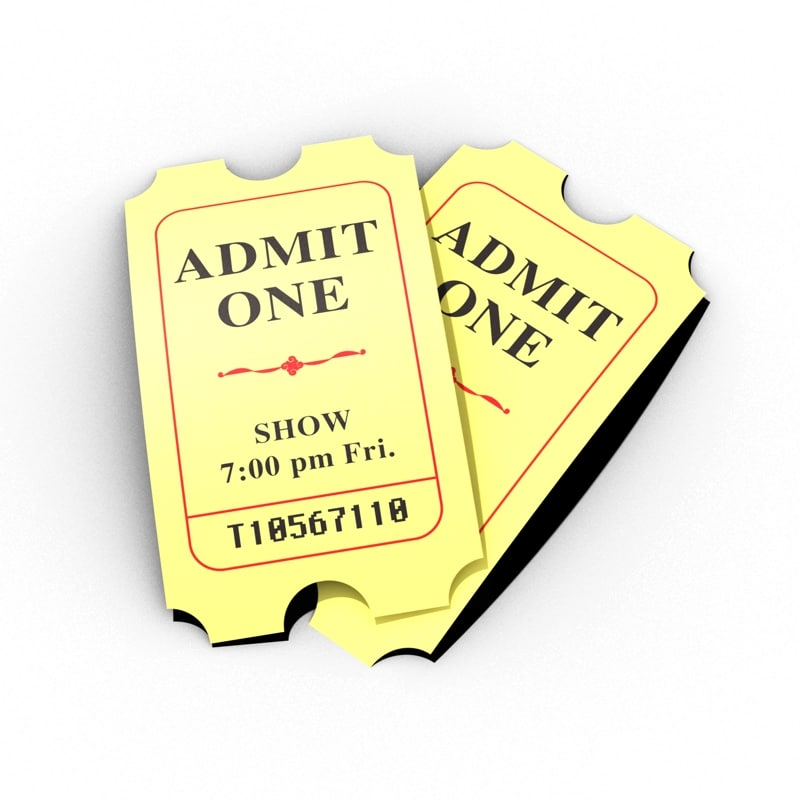 c4d movie tickets