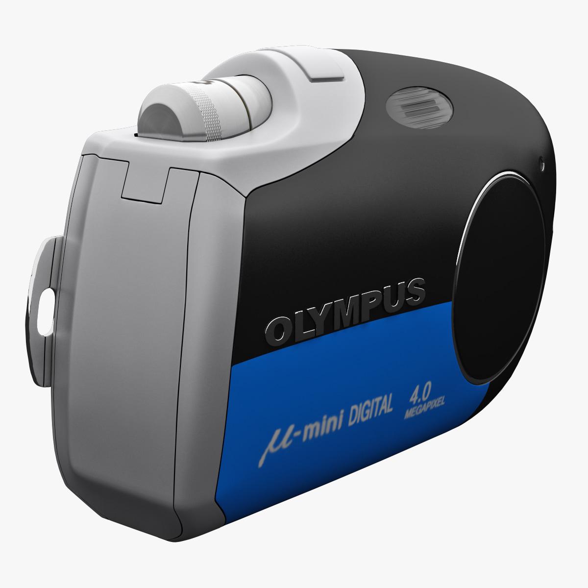 3d olympus m mini blue model