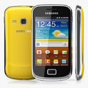 Samsung Galaxy Mini 2 3D models
