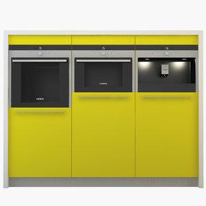 3ds siemens appliances set