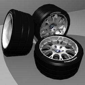 3d rondell style 58 wheels model