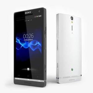 3d model android phone sony xperia