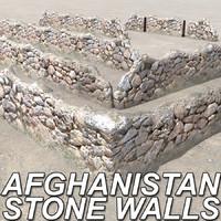 walls afghanistan 3d model