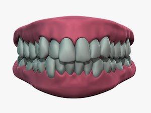 gums tongue 3ds