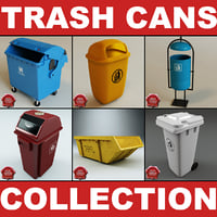 Trash Cans Collection V2