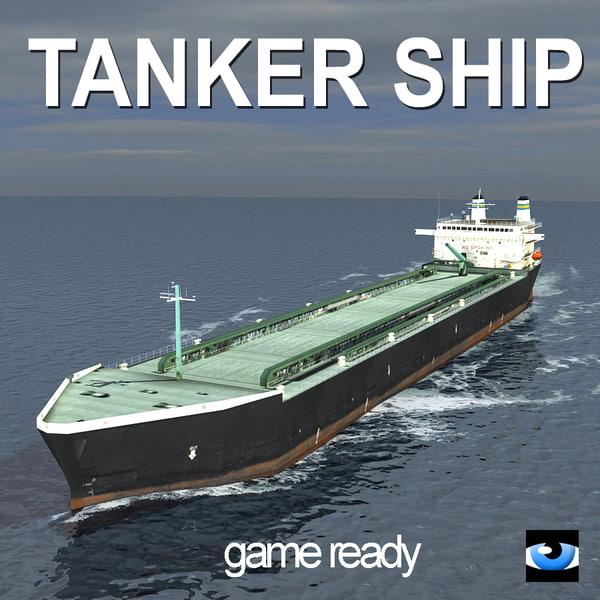 3dsmax tanker ship