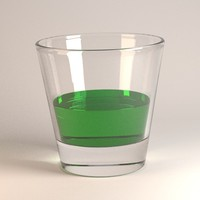 3d alcoholic drink