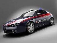 Alfa Brera Carabinieri std mat