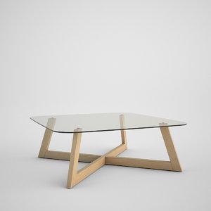 3d boconcept coffe table