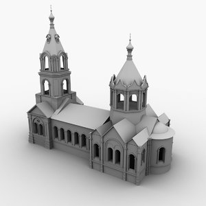 church 3d 3ds