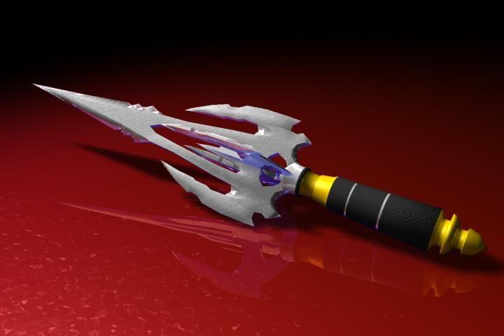 dagger 3d max
