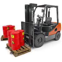 Forklift-Doosan-D30S