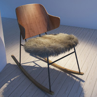 Larsen Rocking Armchair