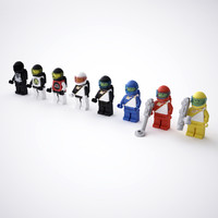 LEGO Space Minifigures