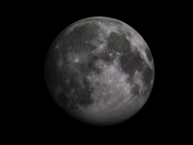moon 3d max