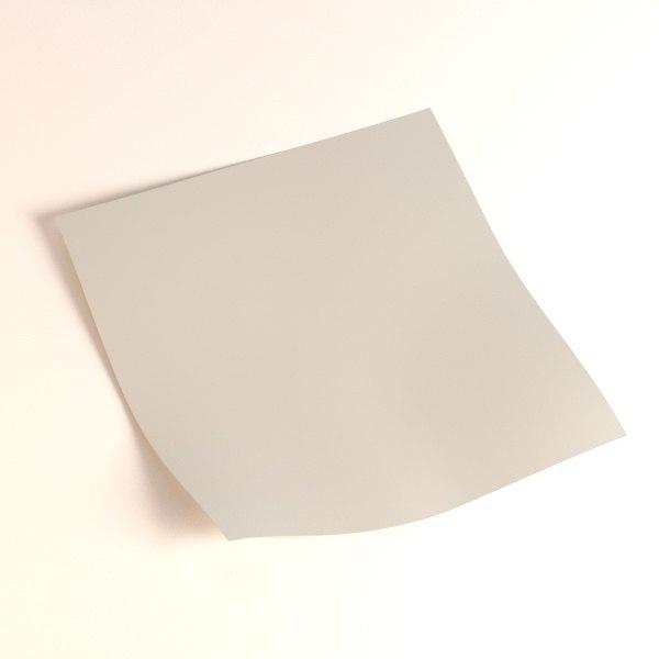 piece paper 3d 3ds