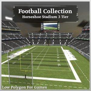 dxf football horseshoe stadium 3