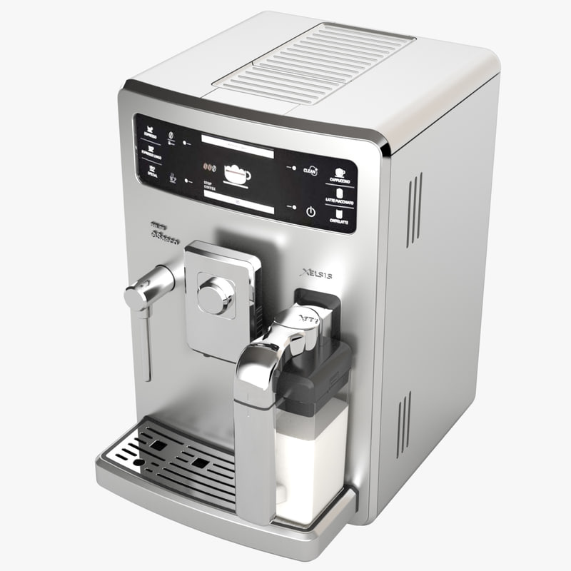espresso coffee machine philips 3d model