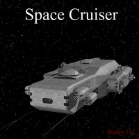 space cruiser transport 3d model