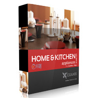 CGAxis Models Volume 20 Home & Kitchen Appliances VRay