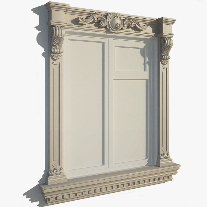 window frame 3ds