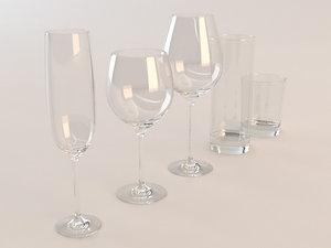 set glass 3d max