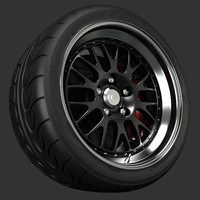 3ds max ccw lm20 wheel