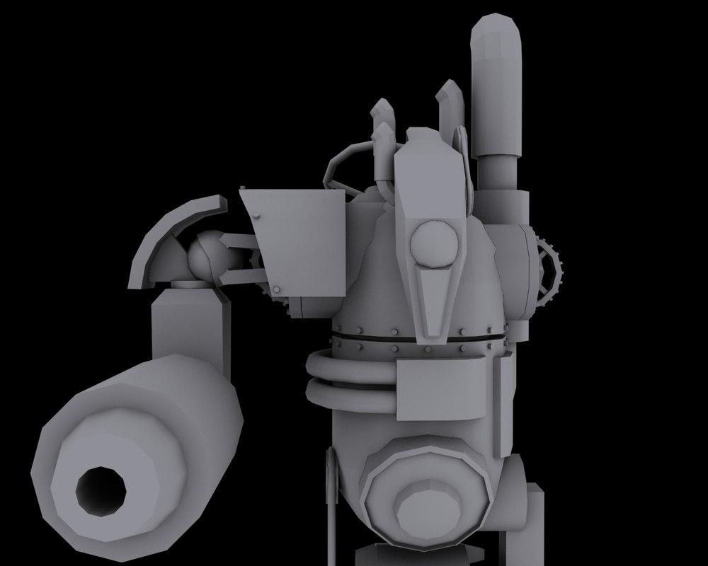 steam punk robot max