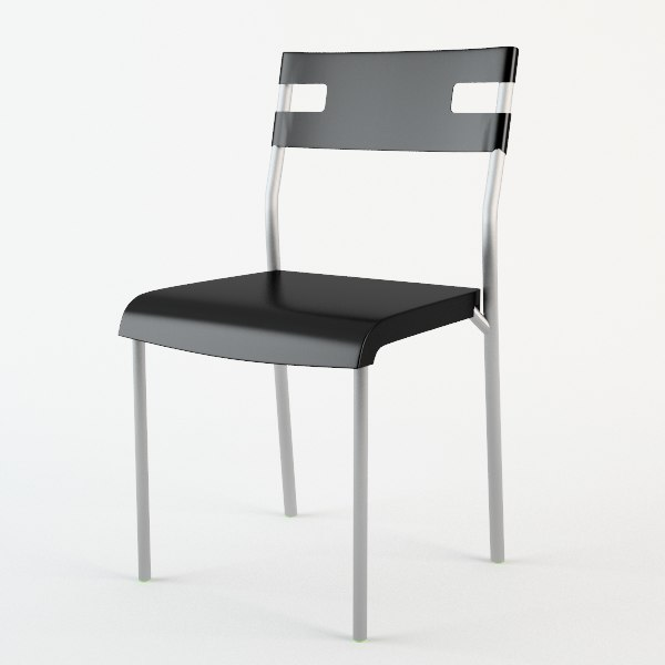 chair ikea 3d obj